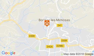 Carte Bormes Les Mimosas Appartement 115695