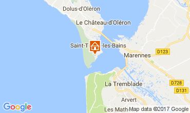 Carte Saint-Trojan-les-Bains Villa 51822