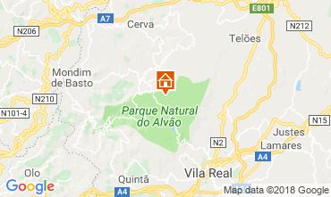 Carte Vila Real Gite 114765