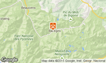 Carte Bar�ges Chalet 3978