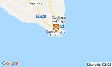 Carte Santa Maria di Leuca Appartement 65510