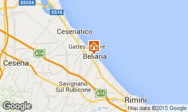 Carte Bellaria Igea Marina Appartement 79298