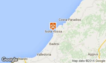 Carte Isola Rossa Appartement 102560