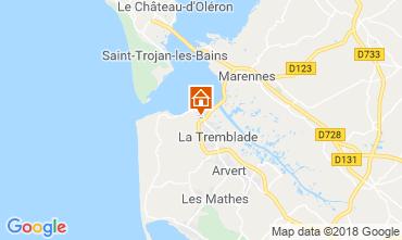 Carte Ronce-les-Bains Mobil-home 95159