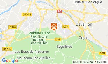 Carte Saint Rémy de Provence Gite 98340