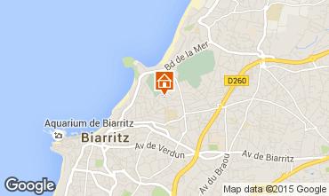 Carte Biarritz Appartement 96126