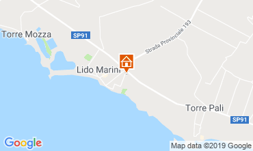 Carte Lido Marini Appartement 118497