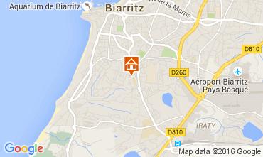 Carte Biarritz Maison 93311