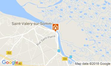 Carte Saint Valéry sur Somme Gite 113531