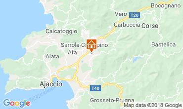 Carte Ajaccio Studio 40805