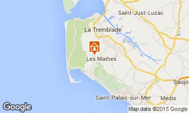 Carte La Palmyre Mobil-home 101256