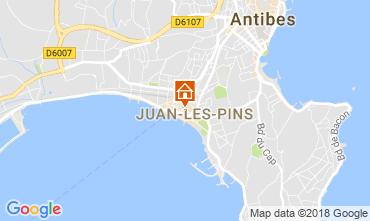Carte Juan les Pins Appartement 115243