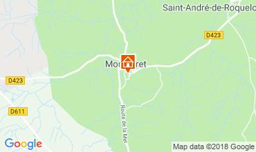 Carte Montséret Gite 116202