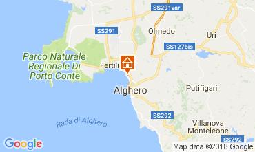 Carte Alghero Appartement 106988