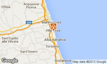 Carte Alba Adriatica Villa 42663