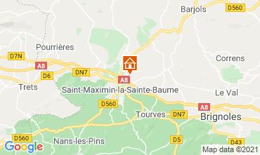 Carte Saint Maximin la Sainte Baume Villa 112385