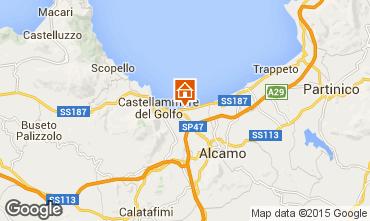 Carte Castellammare del Golfo Villa 94839