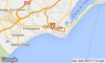 Carte Agde Mobil-home 11169