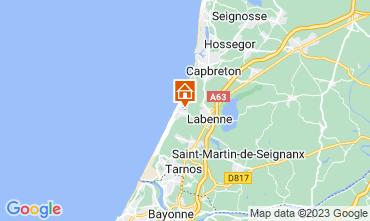 Carte Labenne Océan Mobil-home 72176