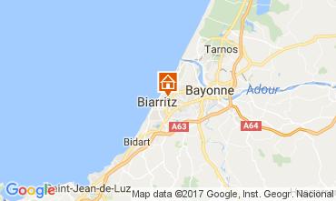 Carte Biarritz Appartement 109239