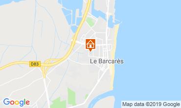 Carte Le Barcares Villa 93839