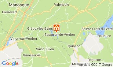 Carte Esparron-de-Verdon Villa 108016