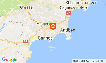 Carte Cannes Appartement 109755