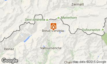 Carte Cervinia (Breuil) Appartement 80539