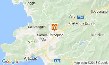 Carte Ajaccio Maison 112239