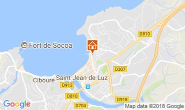 Carte Saint Jean de Luz Appartement 113335