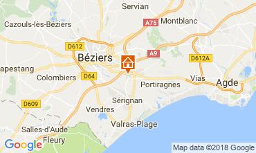 Carte Beziers Chambre d'hôte 114289