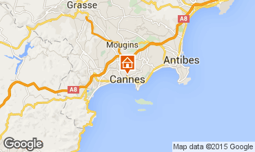 Carte Cannes Appartement 97806