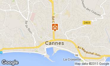 Carte Cannes Appartement 97806