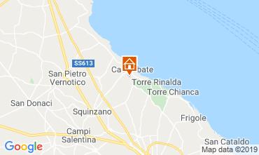 Carte Santa Cesarea Terme Villa 40736