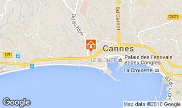 Carte Cannes Appartement 100323