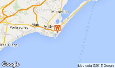 Carte Cap d'Agde Studio 6159