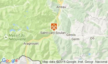 Carte Saint Lary Soulan Appartement 106630