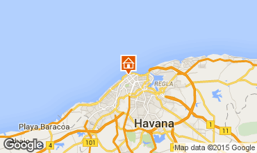 Carte La Havane Villa 99036