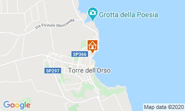 Carte San Foca Appartement 118770