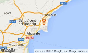 Carte Alicante Villa 51058