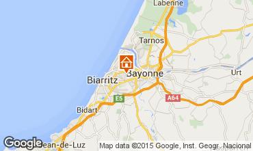Carte Biarritz Studio 55368