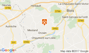 Carte Blois Mobil-home 102122