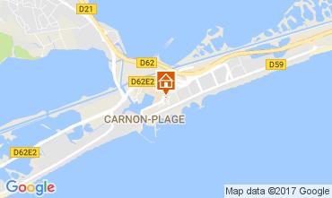 Carte Carnon Plage Studio 86608