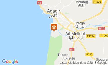 Carte Agadir Hébergement insolite 117445