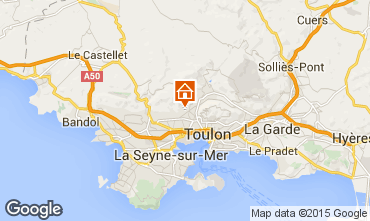 Carte Toulon Villa 94648