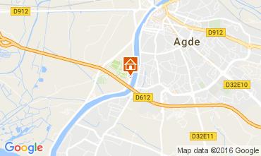 Carte Agde Mobil-home 107471