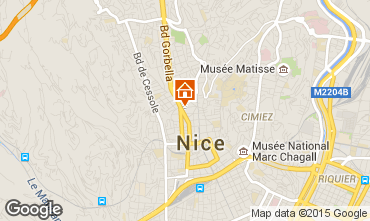 Carte Nice Appartement 85214