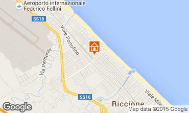 Carte Riccione Appartement 76435