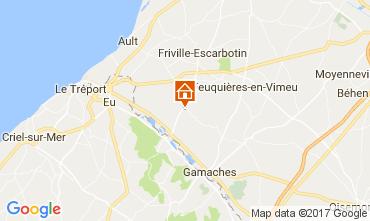 Carte Saint Val�ry sur Somme Gite 94377