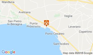 Carte Porto Cesareo Chambre d'hôte 114377